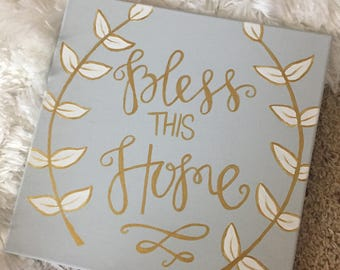 Bless This Home - Canvas