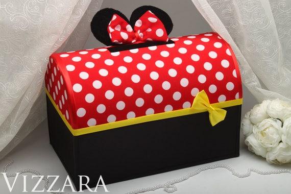 Birthday Card Box Mickey Valentine Card Box Wedding money box – Valentine Card Boxes