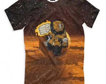 T-shirt fullprint Destiny 2 Titan
