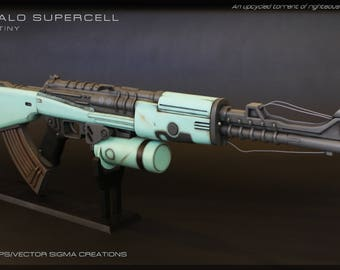 Finished/Painted Destiny Zhalo Supercell Exotic Auto Rife High-End Replica