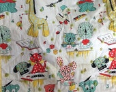 Adorable Vintage Doll Quilt