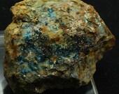 Clinochlore, blue-green crystals, Nevada - Mineral Specimen for Sale
