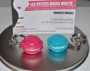 macaron key customizable color choice
