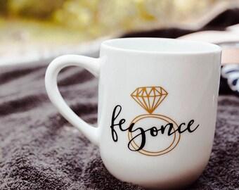 FEYONCE Coffee mug // engaged // future mrs.