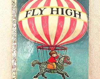 Vintage Fly High Little Golden Book