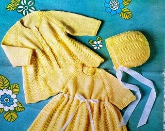 POPPLETON 1317 Vintage Knitting Pattern