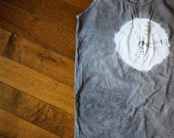 La Lune Tank - Tie Dye Tank Top - Tie Dye - Unisex Tank Top - Muscle Shirt - Yoga - Tank Top - Activewear - Boho