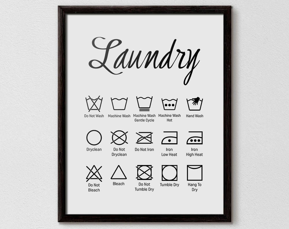 Laundry symbols laundry symbol chart laundry room ideas laundry laundry symbols laundry symbol chart laundry room ideas laundry printables laundry prints laundry chart washing machine symbols home biocorpaavc Gallery