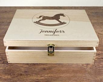 Rocking Horse Memory Box