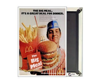 McDonald's Big Mac Ad Magnet