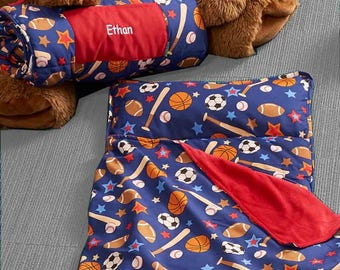Personalized Toddler Nap Mats - Sports