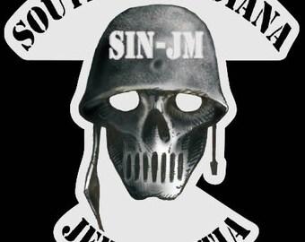 SINJM logo decal