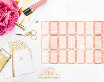 May Halfbox Stickers | Planner Stickers designed for use with the Erin Condren Life Planner