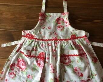 Girl's Apron age 3-4 Cath Kidston Fabric