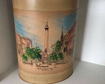NASHCO Products| #MountVernon #Baltimore | George Washington Monument | Victorian Architecture | Vintage Metal Trash #flashsale