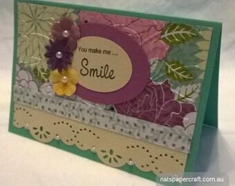 Card | You Make Me Smile
