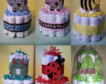 Customized Diaper Cakes