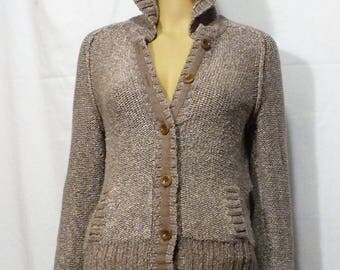 70's GAP limited edition women cardigan hoodie size M, 100% cotton