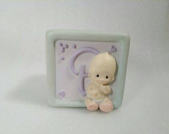 Vintage 1990 Rubber Precious Moments Bank