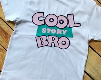 Disney Toy Story Shirt, Cool Story Bro Shirt, Girl's Disney Tee