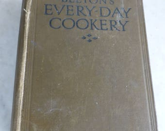Antique Mrs Beeton's Every-Day Everyday Cookery Book