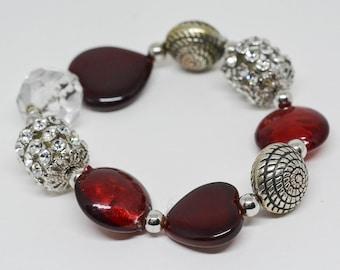 Gorgeous Large Beaded Bracelet