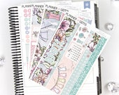 Rain April Monthly View Planner Kit | ~200 Stickers | Planner Stickers | For Erin Condren LifePlanner