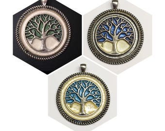 Tree life necklace, personalized gift, protection, amulet, gift for her, birthday gift, handmade, unique jewelry,