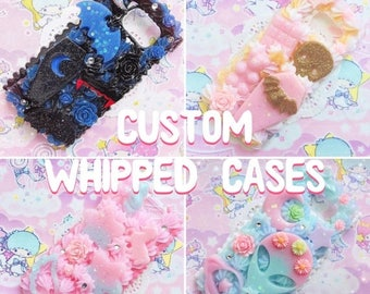 SALE Custom Whipped Decoden Cases