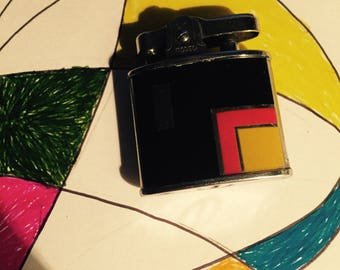 1930s Rodeo lighter, beautiful, very lissitsky/ modernist, bauhaus