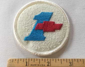 Chevrolet #1 Patch Iron or Sew on Patch