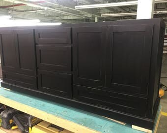"72""-80"" Bathroom Vainity with drawers"