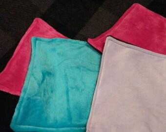 Reversible Lovey blanket