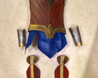 Wonder Woman Cosplay Costume version 2