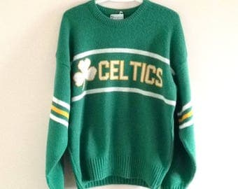 Boston Celtics Cliff Engle Vintage Sweater