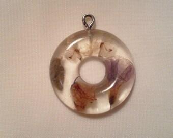 Flowers - 41 010 donut pendant