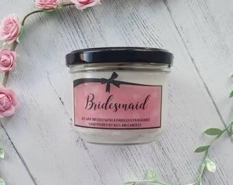 Bridesmaid Gift, Bridesmaid Candle, bridesmaid proposal, bridesmaid gift, Thank you Bridesmaid, Will you be my bridesmbridesmaid gift.