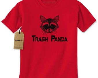 Trash Panda Raccoon Mens T-shirt
