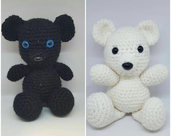 Crochet Teddy Bears! Customization available!