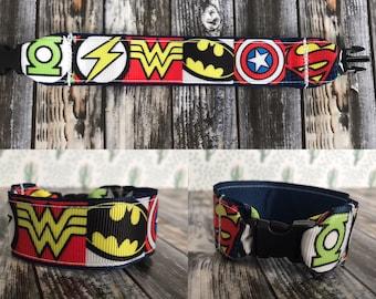 Superhero inspired kids i.d bracelet, kids, bracelt, superhero, superman, green lantern, Wonder Woman, batman, captain America, the flash