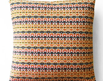 Maharam Pillow -  Arabesque Alexander Girard - 17x17, 19x19, 21x21 - With Insert or Cover Only - Pink Orange - Made to order by UPSTYLE