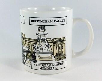 Kilncraft Coffee Mug St James Palace London Buckingham Palace Souvenir