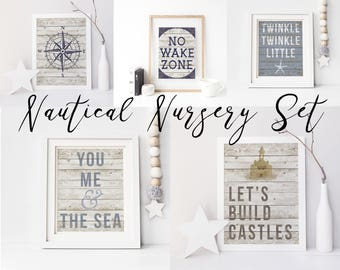 Nautical Nursery, Nautical Decor, Nautical Baby Shower, Nursery Decor, Nursery Wall Art, Beach House Decor, Beach Decor, Nautical Print,