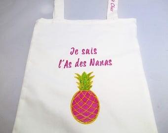 Tote Bag, bag of race custom denim
