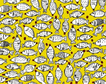 Soy Sauce Fish Art Print