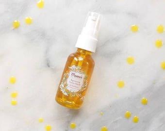 Organic Sea Buckthorn Face Oil - Organic Serum for Mature Skin - Moisturizing Face Serum - Natural Facial Serum - Vegan Face Oil - Best Sell
