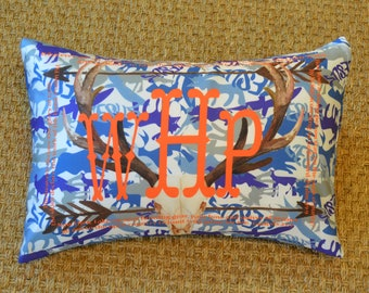 SAMPLE SALE   wHp   Monogram Mistake   Sold As Is   PillowGrace   Scripture Pillow   Camo Pillow   Camouflage Pillow
