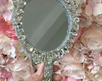 Crystallized Hand Mirror