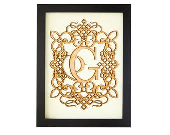 G - FRAMED MONOGRAM