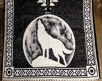 Howling Wolf Poncho